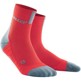cep Short Socks 3.0 Uomo, lava/grey